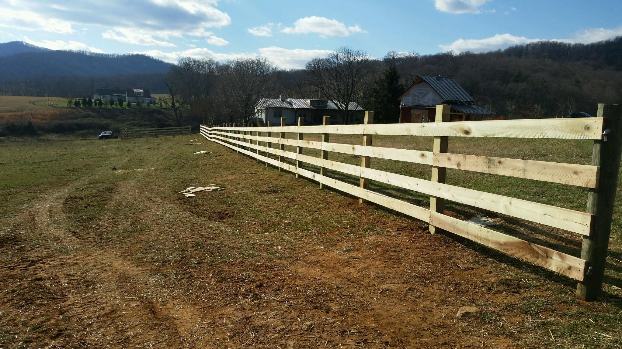 Four Board Fence At Bundoran Hilliard Management